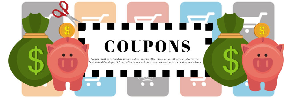 Coupon, discounts, terms conditions